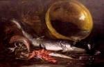 Emil Carlsen Fish & Shrimp Still Life