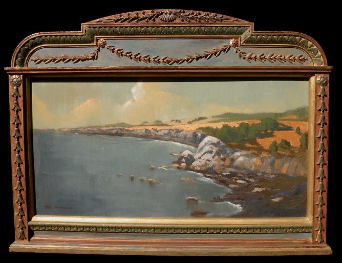 Jack Cassinetto California Coast Near Fort Ross