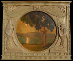 Jack Cassinetto - Sunset Egyptian frame