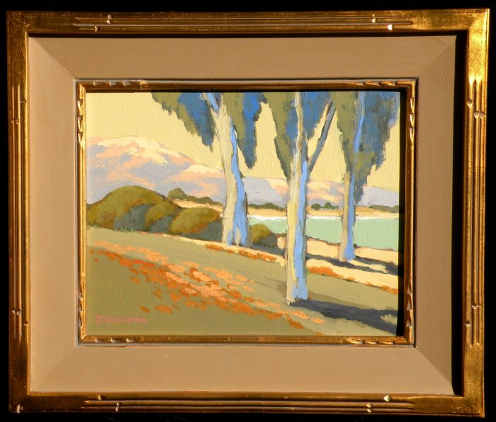 Jack Cassinetto Three Trees by the Bay