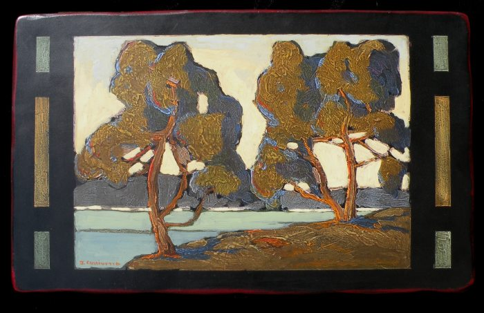 Jack Cassinetto - Two Trees Along the Bay