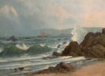 Manuel Valencia Along the Coast Golden Gate from Baker beach