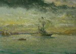 William Coulter Entering San Francisco Bay