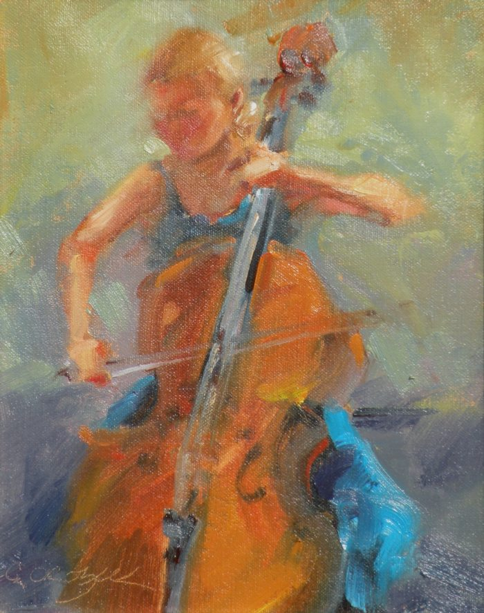 Christine Crozier - Cello Player