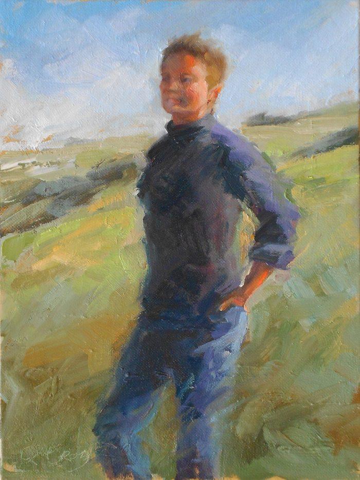 Christine Crozier - Self Portrait