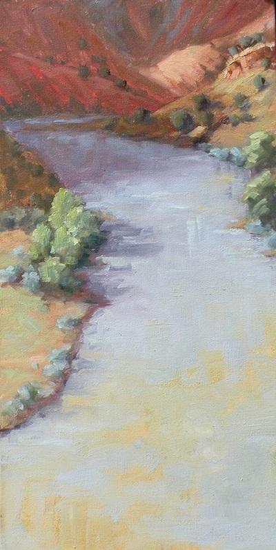 Christine Crozier chama River I