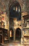 Deakin Gothic Church Interior