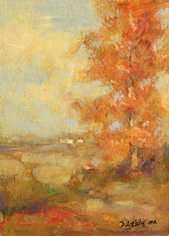 Don Ealy - Autumn Poplars