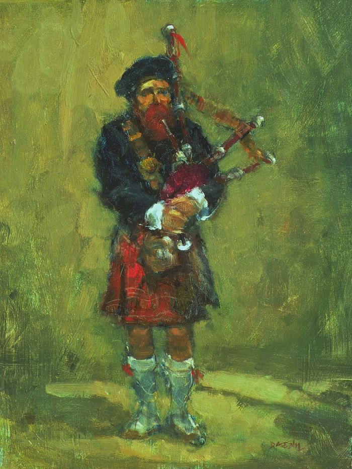 Don Ealy - Bagpiper