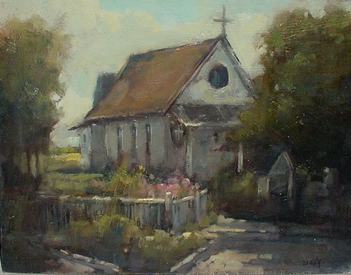 Don Ealy - Church at East Sound Orcas Island