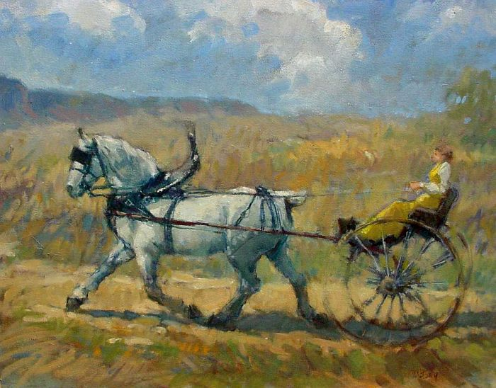 Don Ealy - Horse & Cart