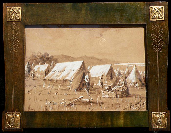 Alfred Farnsworth - Earthquake Camp