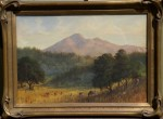 Alfred Farnsworth - Mt. Tam from Kent Woodlands