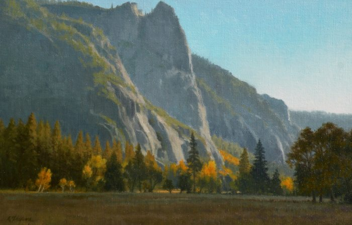 Allen Figone - Ahwahnee Meadow & Sentinel Rock at Sunset