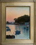 Figone Morro Bay Harbor at Sunset rd