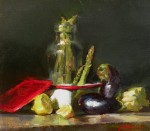 Goldfinger Asparagus Eggplant & Lemons HR