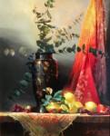 Ronald Goldfinger - Black Vase & Lemons