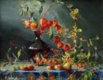 Goldfinger Chinese Lanterns & Bittersweet Little Lively Still Life