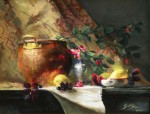 Goldfinger Copper Pot and Lemons