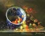 Goldfinger Floe Blue & Lanterns