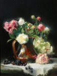 Ronald Goldfinger - Peonies in Full Panoply