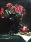 Goldfinger Red Roses and Bing Cherries