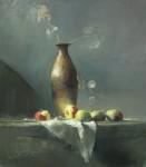 Ronald Goldfinger - Tall Vase & Lady Apples