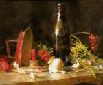 Goldfinger winter Still Life with Candle HR