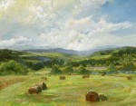 Ronald Goldfinger - Scattered Hay Bales