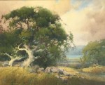 Percy Gray Grey Skies Creekside Oak