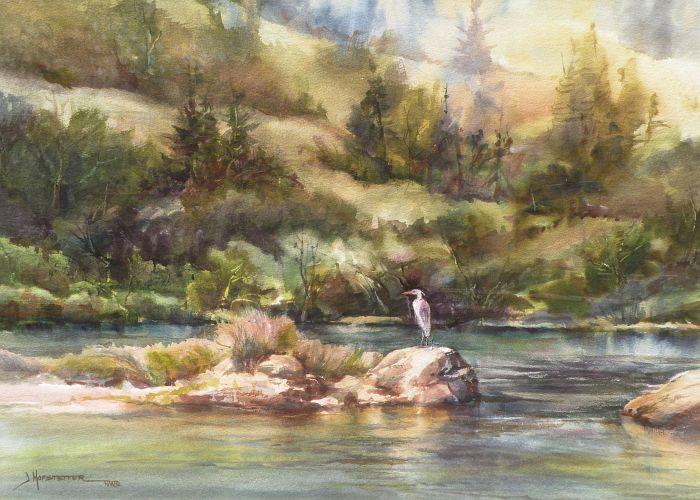 Jane Hofstetter - Bills Favorite Fishing Hole