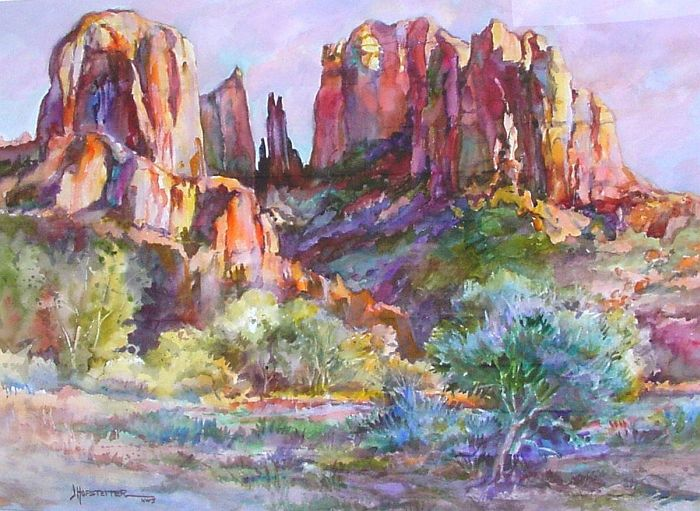 Jane Hofstetter - Cathedral Rock Afternoon