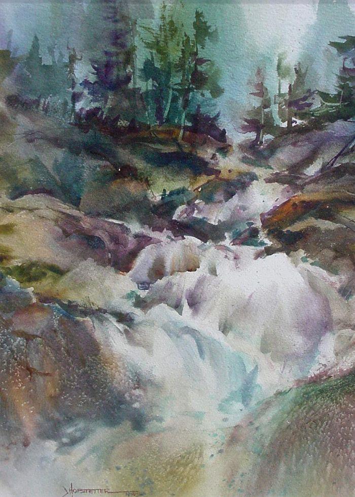Jane Hofstetter - Sierra Falls