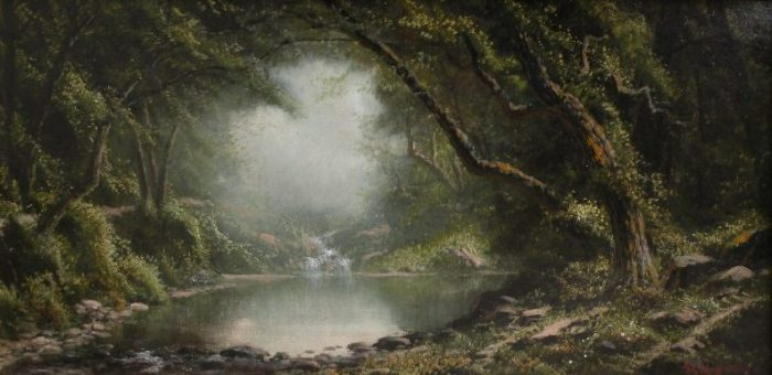 Ransom Holdredge - A Quiet Brook