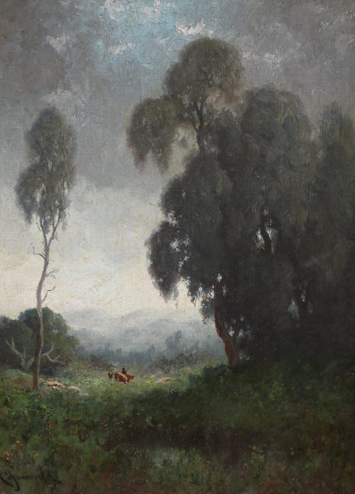 Carl Jonnevold - Trees at Twilight