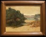 Amedee Joullin Sand Dunes of San Francisco framed HR