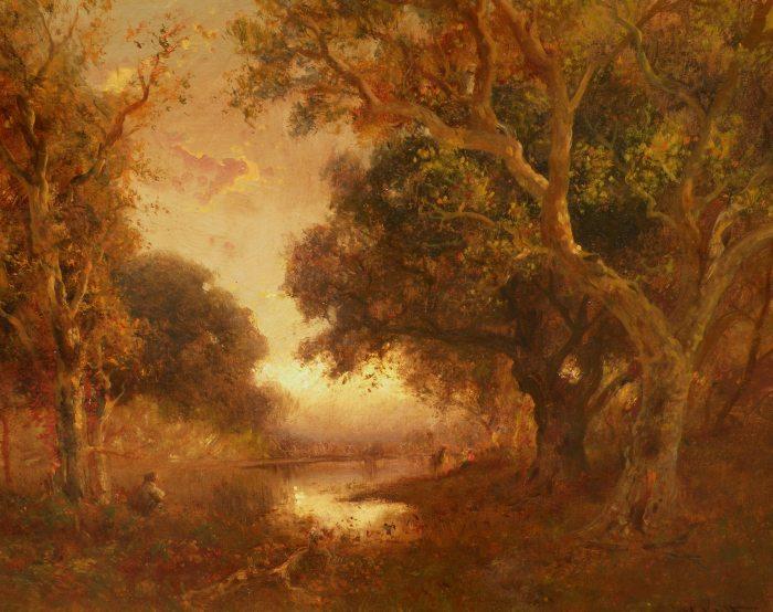 William Keith - Pondside Gathering