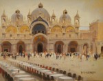 Kersey Piazza San Marco 9x12