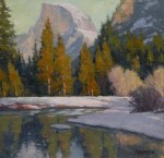 Paul Kratter Half Dome Winter Light
