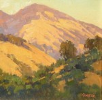Paul Kratter Mt. Diablo Setting Sun