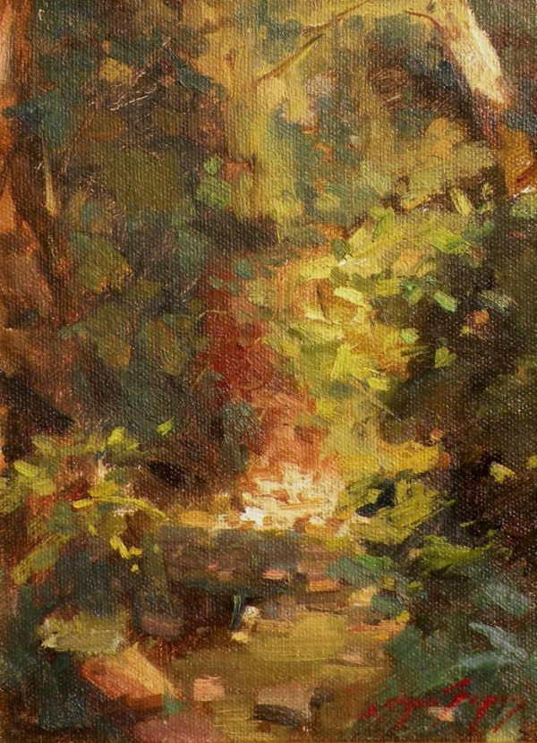 Sergio Lopez - Impression of a Creek