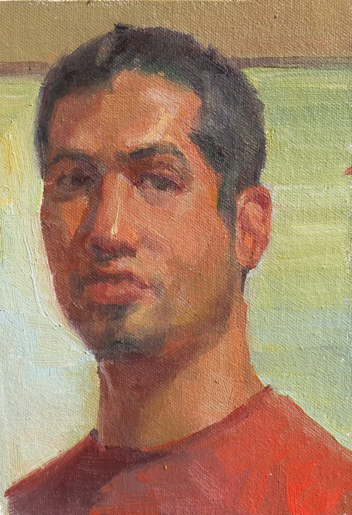 Sergio Lopez - Self Portrait
