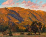Sergio Lopez Setting Sun On The California Hills