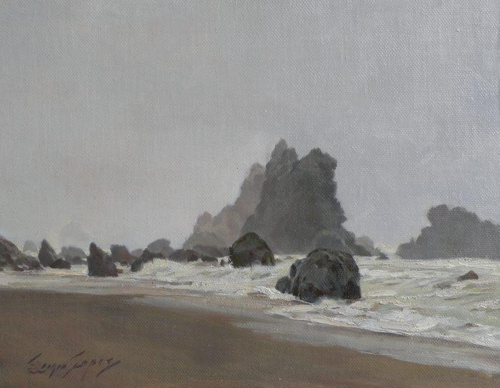 Sergio Lopez - Wintery Coast