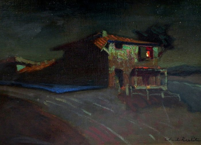 Charles Rollo Peters - Monterey Customs House