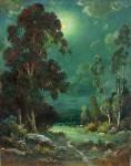 Alexis M Podchernikoff - Moonlit Valley