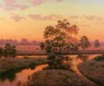 Sauve Wetland Sunset Graze