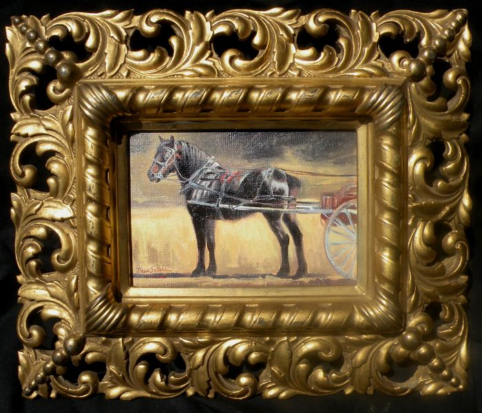 Dave Sellers - Carousel Carriage Horse