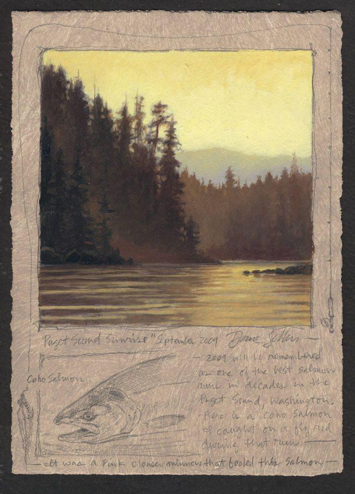Dave Sellers - Puget Sound Sunrise