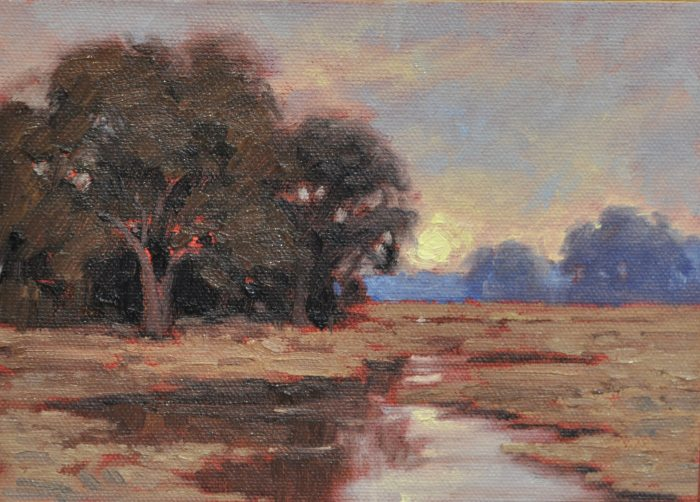 Dave Sellers - Study for Sunset Remembered